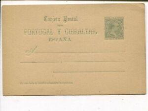 Spain 5c postal card, mint