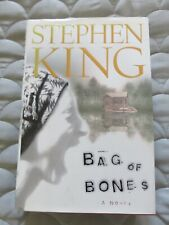 Stephen King Bag of Bones, A Haunted Love Story Hardback Book