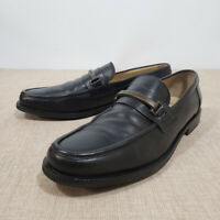 Mens DOLCE & GABBANA Black Horsebit Moccasin Loafers 8.5 D