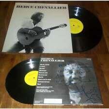 HERVE CHEVALLIER - Same Rare French Folk Prog LP Prodisc Dedicacé