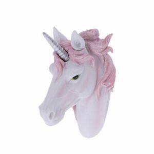 Nemesis Now  DIVINE SPLENDOUR  White Unicorn Head Wall Plaque Brand New