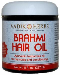 Vadik Herbs, Brahmi Oil, 8 fl oz