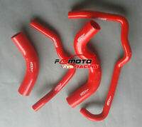 RED Silicone Radiator Hose for TOYOTA HILUX KZN165R 3.0 Turbo Diesel 1999-2005