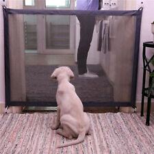 Portable Folding Safety Magic Gate Guard Mesh Fence Net Pet Dog Puppy Cat New