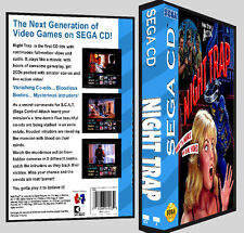 Night Trap - Sega CD Reproduction Art DVD Case No Game