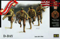 Master Box 3520 WWII US Army, D-Day Omaha 6th June 1944 (4Fig.) plastic kit 1/35