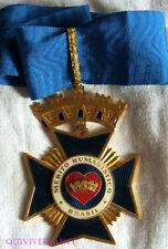 DEC1882 - COMMANDEUR ORDRE DU MERITE HUMANISTE - BRESIL - ORDER MEDAL