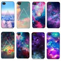 New Fashion Space Universe Nebula Tiger Hard Case Cover For iphone 4 4S 5 5S