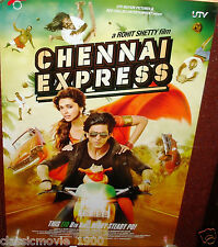 "CHENNAI EXPRESS DOUBLE SIDED DS POSTER # 3  BOLLYWOOD SHAHRUKH KHAN 27 ""X 39"""