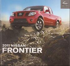 2011 11 Nissan  Frontier original sales brochure Mint