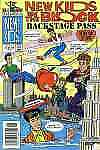 New Kids on the Block: Back Stage Pass #7 in VF + condition. Harvey comics [*zy]