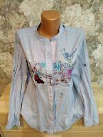 Desigual Women's shirt  blue color size- M