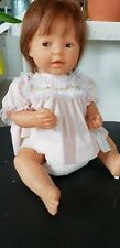 "Famosa Baby doll 18"" Made in Spain jointed side glance eyes Vintage 1970's Doll"
