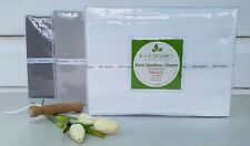 NEW 100% Organic Bamboo 400TC Double Size Bed Sheet Set by R 'n' R ORGANICS