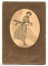 Ancienne pochette KODAK avec 2 négatifs. Relève d'une Nasse . Pêche. Famille