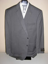 $1295 new Jos A Bank Signature Gold  gray stripe 2 button suit 44 X Long 39 W