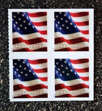 2017USA #5160b Forever  U.S. Flag US - Block of 4 From Booklet of 20 Mint  (BCA)