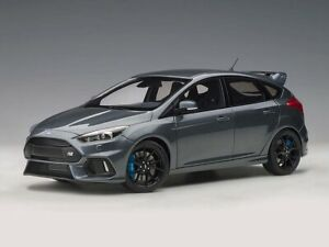 Ford Focus RS 2016 | Stealth Grey | AUTOART | 1:18