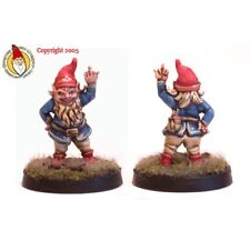 Ginfritter Dungeons & Dragons GNOME001 Rhuud E. 'The Flippin' Gnome 28mm