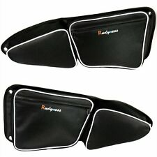 Left&Right Door Bags with Knee Pad for Polaris Rzr Xp 1000 900 S 2015-2018 Model