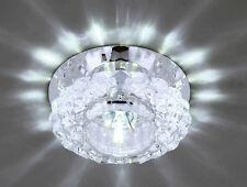 Weiß Kristall LED Deckenlampe Deckenleuchte Flurleuchte Lampe Kronleuchter 3w