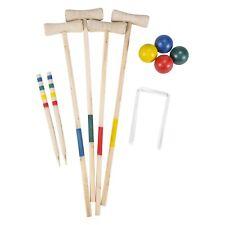 Large Wooden Croquet Set