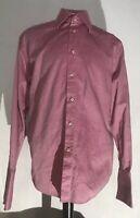 KUHLMAN Mens Dress Shirt--Pink WhiteEuropean Size 42.