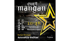 Curt Mangan 10-48 12 Cuerdas Medium-Cuerdas para guitarra acústica de bronce luz 80/20