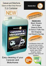 Chemicals Direct Caravan Cleaner 3 Ltr Black Streak Remover  RECOMMENDED product