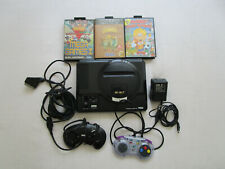 Sega Mega Drive Konsole + Kabel 2 Controller PAL 3 Spiele in Ovp