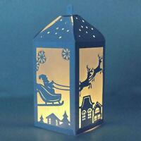 Stanzschablone Lampion Laternen Elk Weihnachten Hochzeit Oster Geburstag Karte