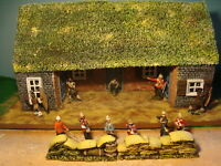 T4 Zulu War and Rourke drift. Sandbags and Boxes for scenery, Dioramas. 1.32