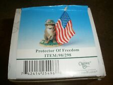 New Charming Tails Fitz & Floyd Figure Protector of Freedom 98/298
