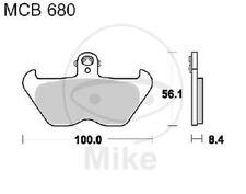 TRW Lucas brake pads MCB680SV front BMW K 1200 RS 5,5 Inch Rim ABS