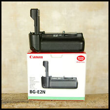 BOXED Canon Battery Grip BG-E2N EOS 20D 30D 40D 50D Digital SLR FREE UK POST