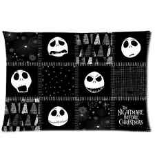 Nightmare Before Christmas Jack Pillowcase Cover 20 x 30 Inch One Side Printed