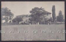 ALESSANDRIA NOVI LIGURE 42 VILLA LODOLA FOTO Cartolina PRIVATA viaggiata 1923
