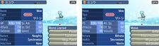 Shiny Mew Event Japanese Old Sea Map LV30 Naughty Pokemon Sun & Moon Sole & Luna