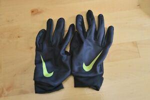 Nike Base Layer Gloves Youth Medium Black