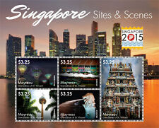 Mayreau Grenadines of St. Vincent-2015-Architecture - Singapore Stamp Expo