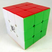 Dayan GuHong V1 3x3x3 Speed Cube 6-Color Stickerless Twist Puzzle 57mm Kids Toy
