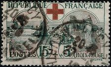 FRANCE CROIX ROUGE INFIRMIERE N° 156 OBLITERATION CACHET A DATE - COTE 70 €