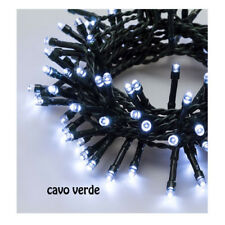 catena luci 24 led reflex bianco freddo batteria 7 giochi di luce luminarie