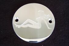 Custom Points cover / Cam cover Fits Harley Davidson Trucker Girl 2 hole