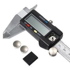 "Electronic Digital LCD Steel Vernier Caliper Gauge Micrometer Tool 150mm 15cm 6"""