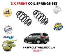 Per Chevrolet Orlando 1.8 MPV 141bhP 2011-- > Nuovo x 2 Anteriore Molla Set
