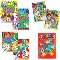 Colouring Book Childrens Color Activity Adult Kids A4 Large Travel Rainy Day Fun