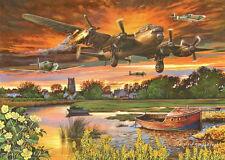 La maison de Puzzles - 1000 Pièces Jigsaw Puzzle-Sur une aile & une prière Lancaster