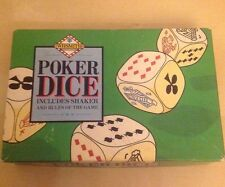 Vintage WH Smith Poker Dice-Complet!