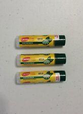 New X3 Carmex Daily Care Click Stick Wintergreen Spf 15